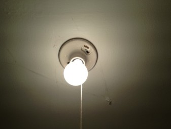 pull string light fixture home depot